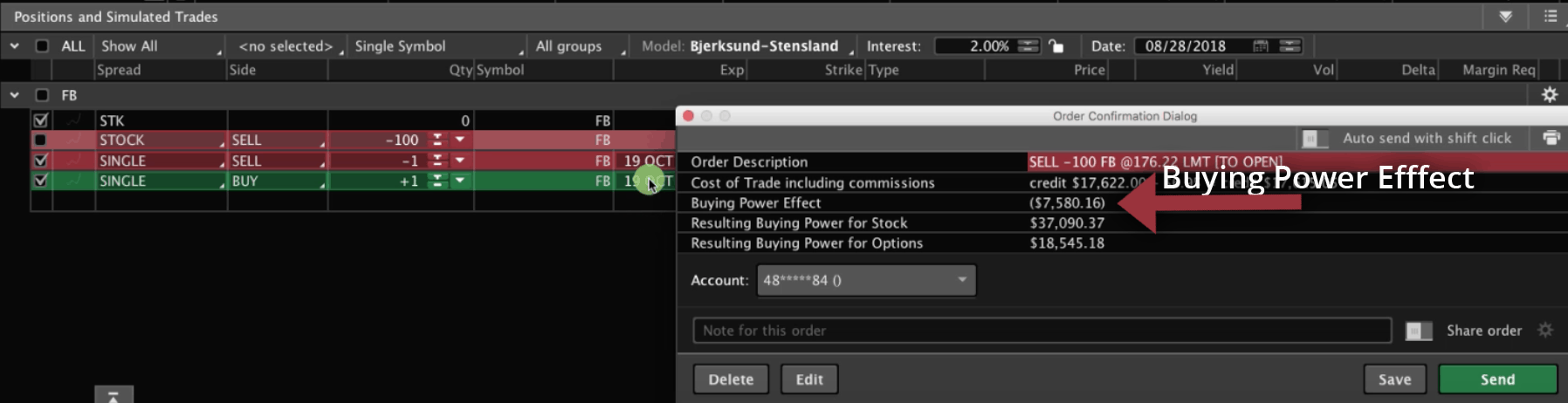 Buying Power Effect graphic
